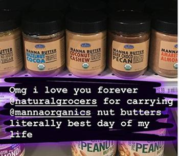 Organic Bread - Organic Nut Butters - Manna Organics