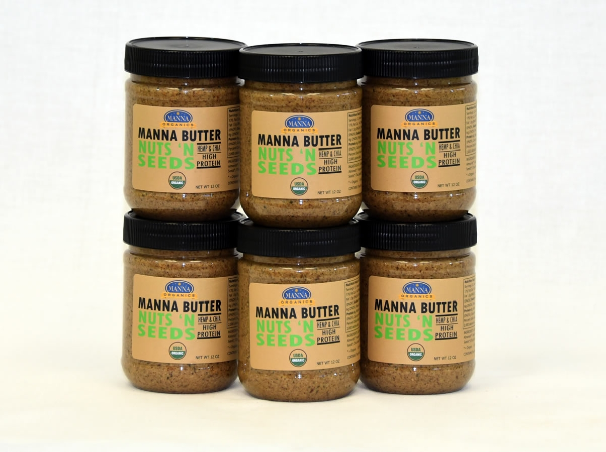 Case of 6 Organic Nut Butter Nuts and Seeds