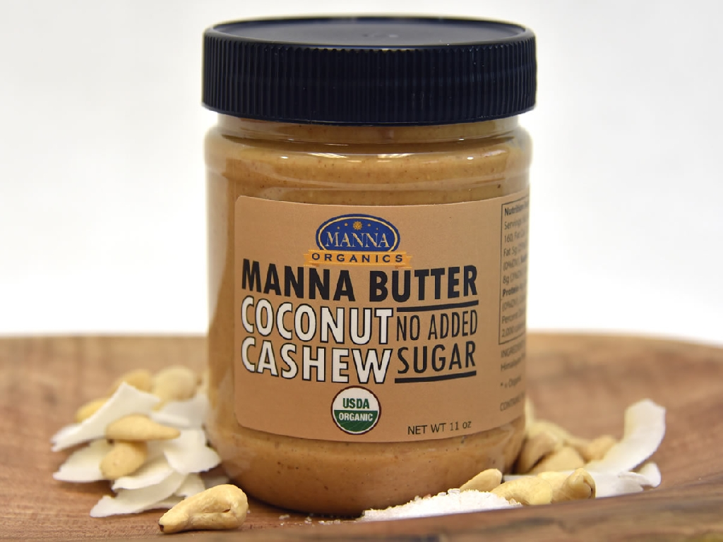 Organic Nut Butter Coconut Cashew No Sugar
