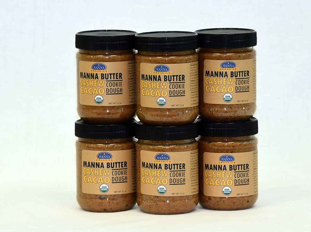 Case of 6 Manna Nut Butters Cashew Cacao