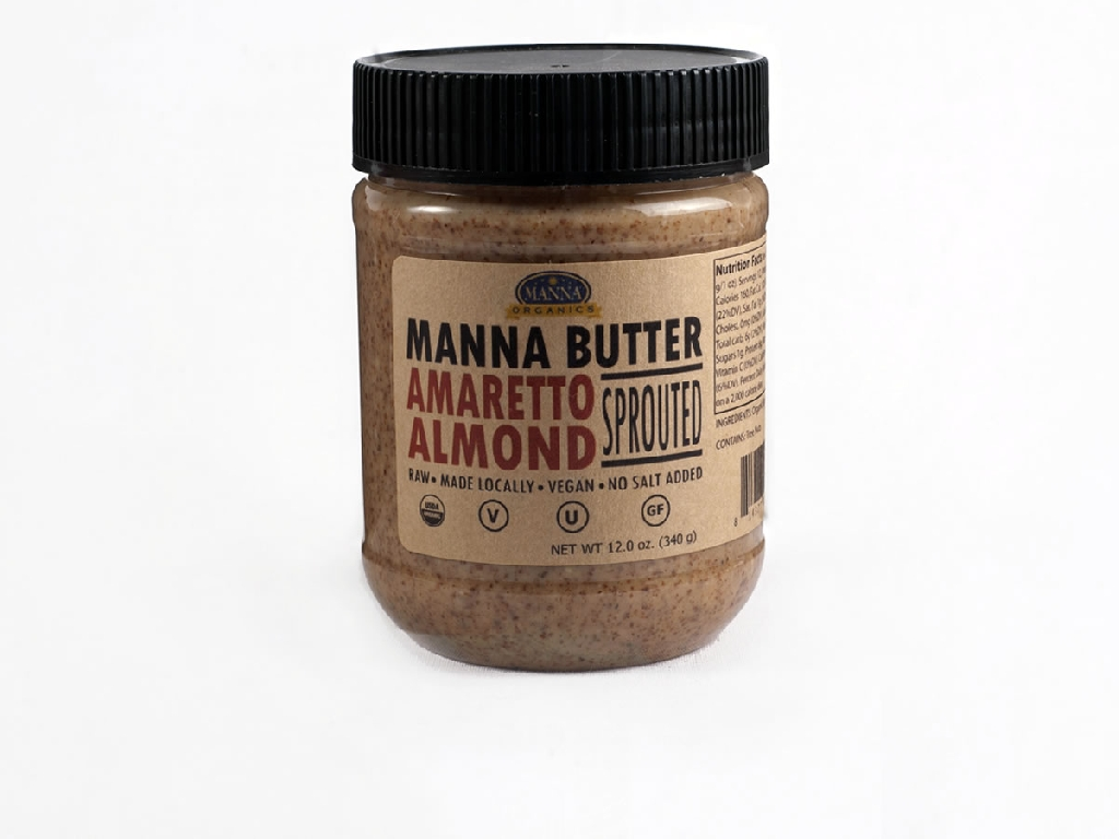 Organic Nut Butter Amaretto Almond