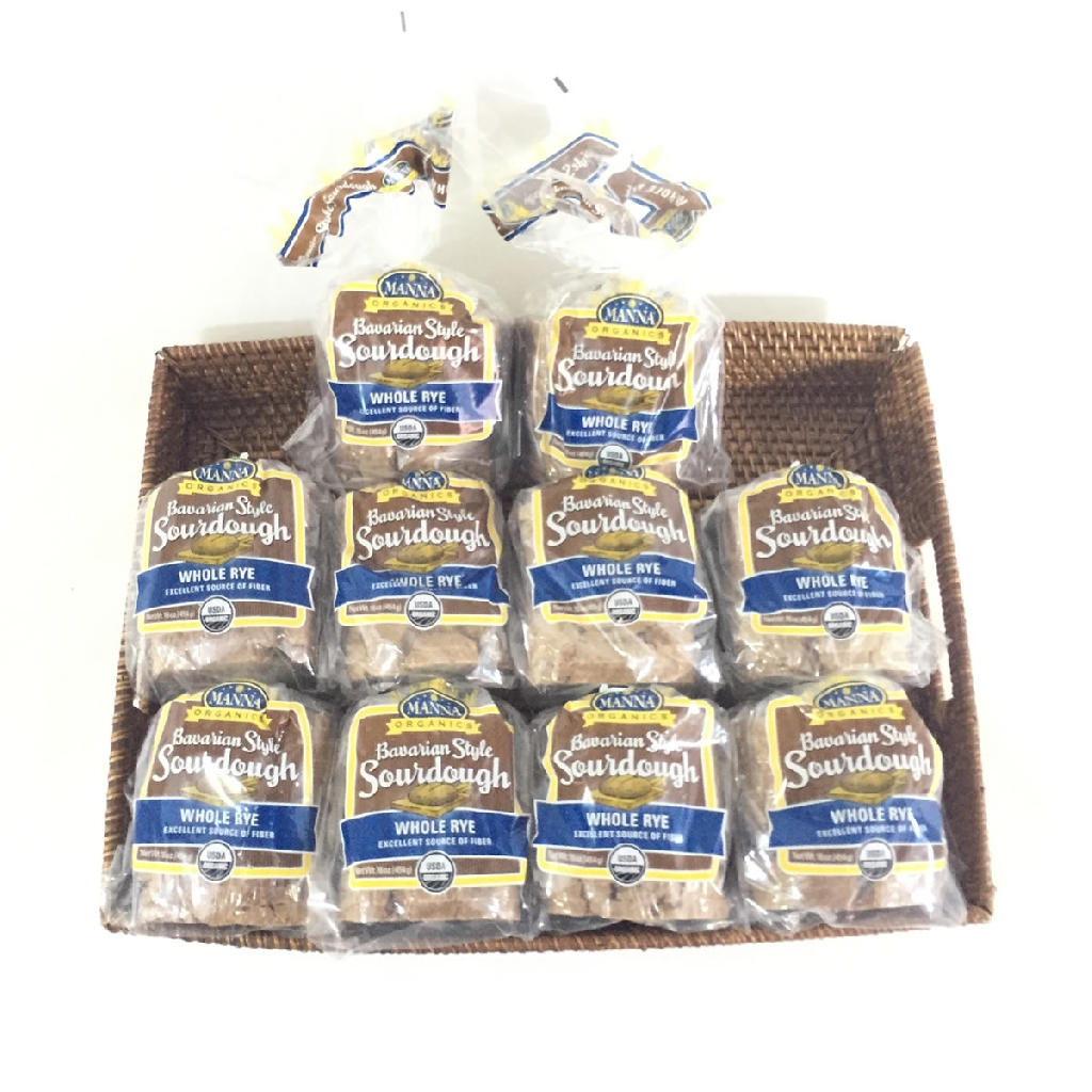 Case of 10 Bavarian Rye Sourdough