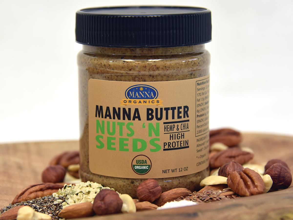 Organic Nut Butter Nuts and Seeds