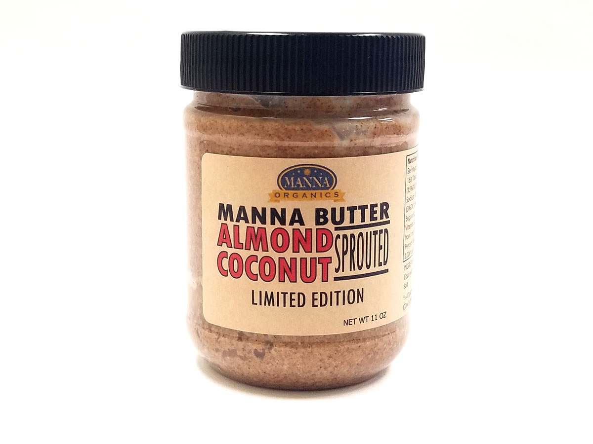 Organic Nut Butter Almond Coconut