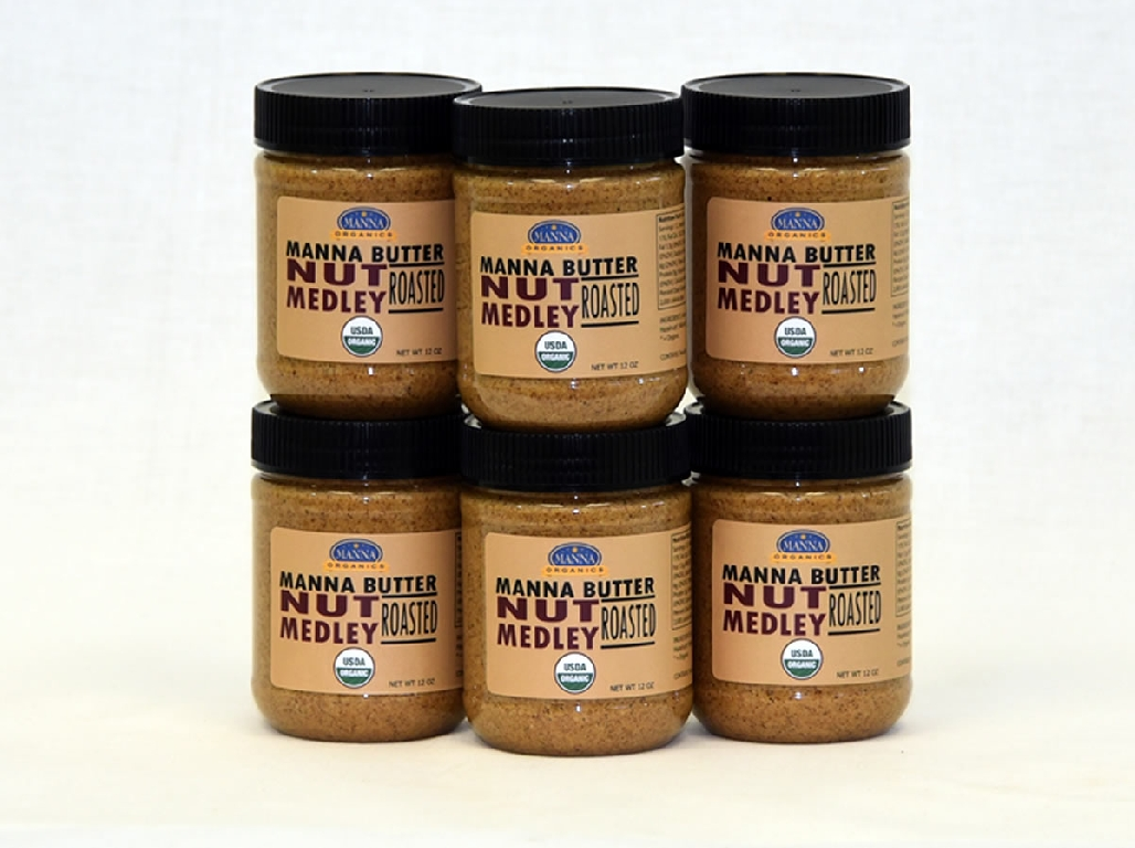 Case of 6 Manna Nut Butters Nut Medley