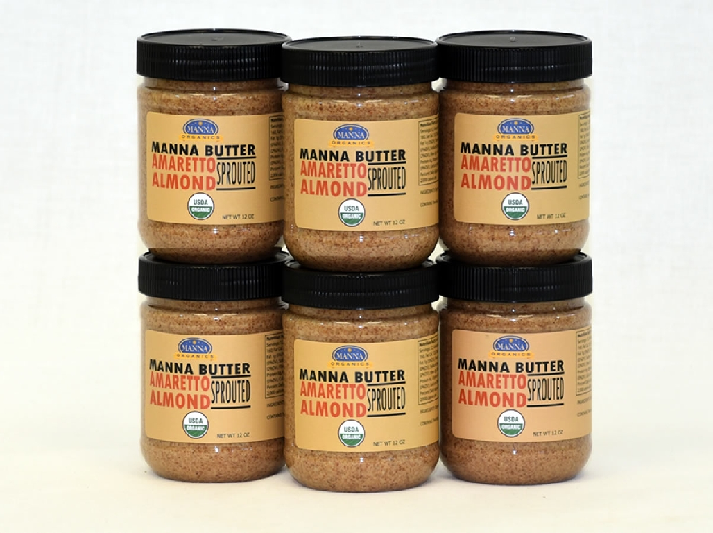Case of 6 Manna Nut Butters Amaretto Almond