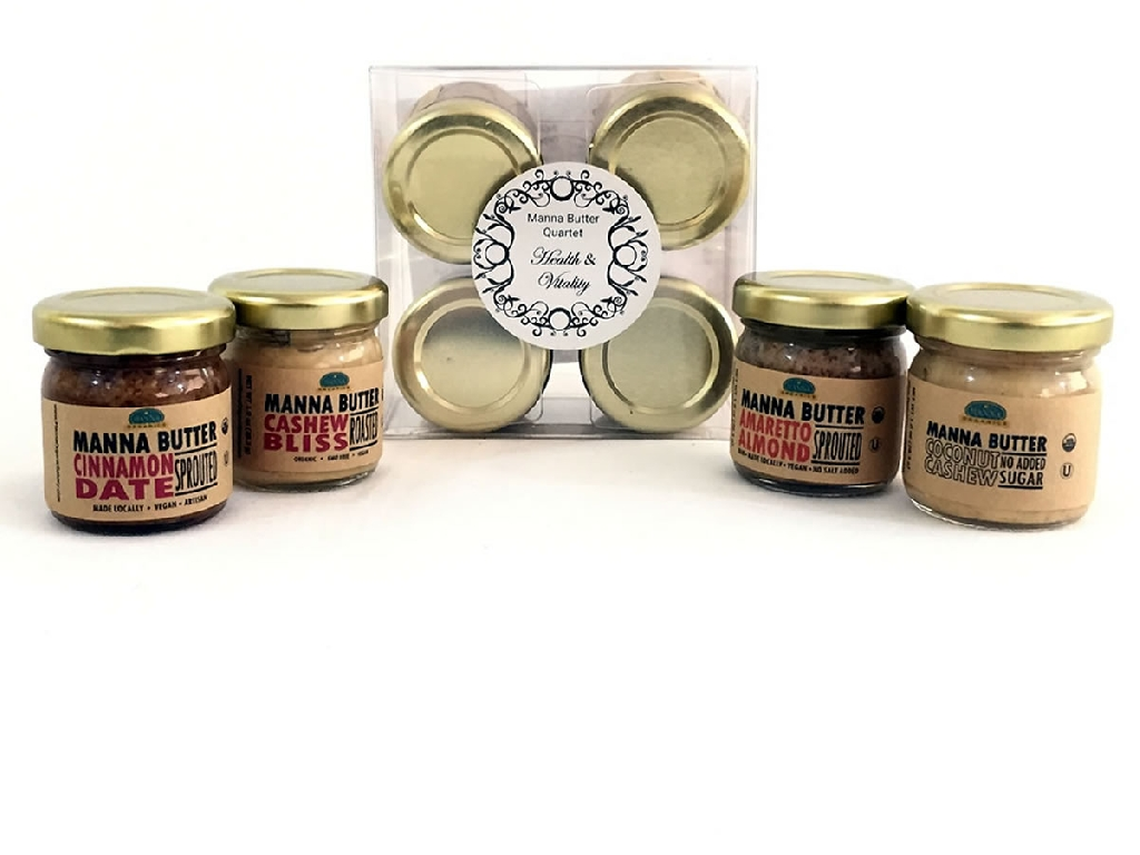 Manna Butters Gift Set Health and Vitality