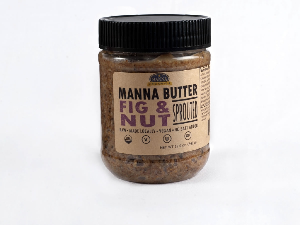 Organic Nut Butter Fig and Nut