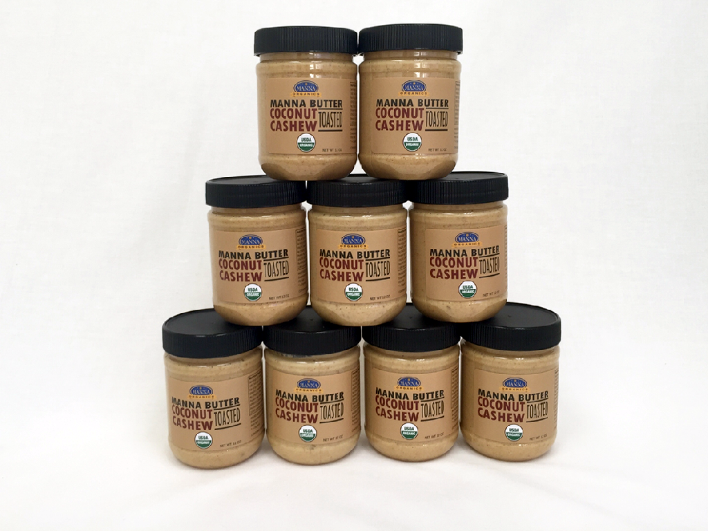 Case of 9 Manna Nut Butters Coconut Cashew