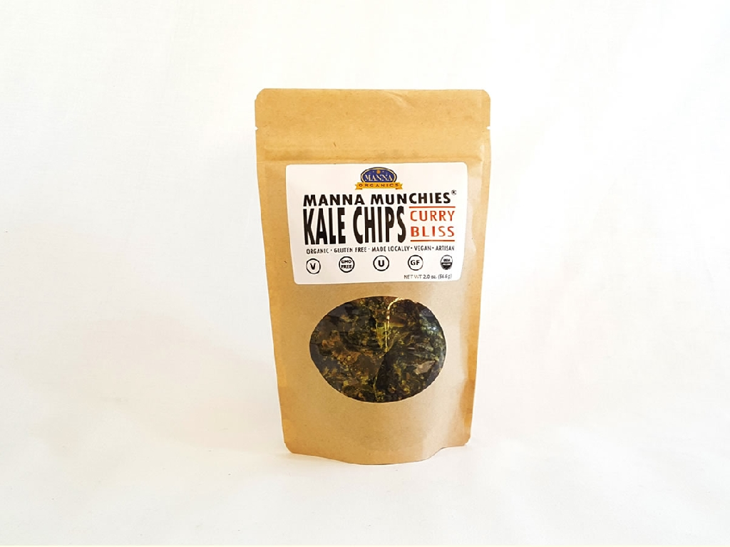 Kale Chips Curry Bliss