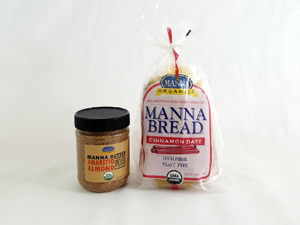 Combo Deal Amaretto Almond Butter and Cinnamon Date Bread